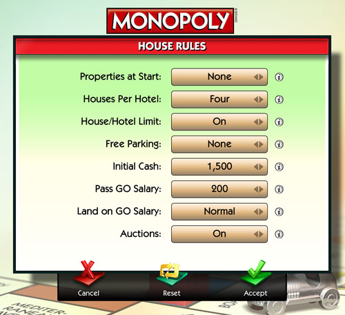 Money To Start Monopoly